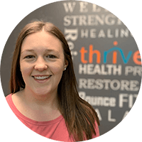 Headshot of Alannah Henderson Thrive Physio Employee